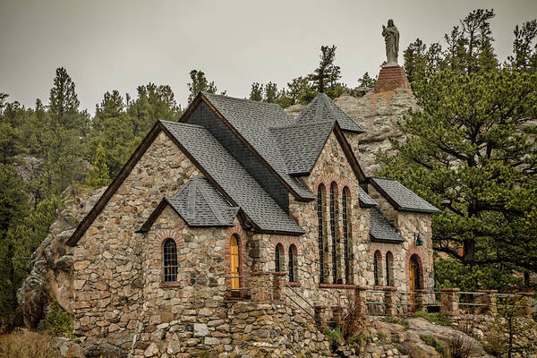 Photograph - Chapel On A Rock by Teresa Wilson