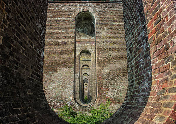 Railroad Bridge Photograph - Chapel Viaduct by Martin Newman