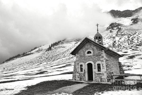 Photograph - Chapelle Des Aravis by Olivier Le Queinec
