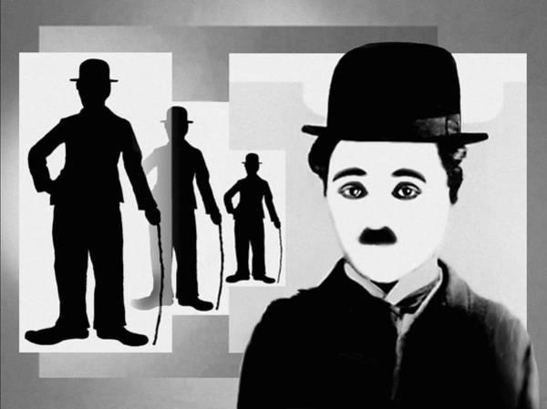 Chaplin, Charlie Chaplin Art Print