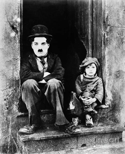 1921 Photograph - Chaplin: The Kid, 1921 by Granger