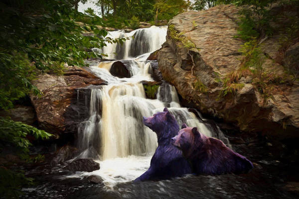 Painting - Chapman Falls - Devils Hopyard by Ericamaxine Price