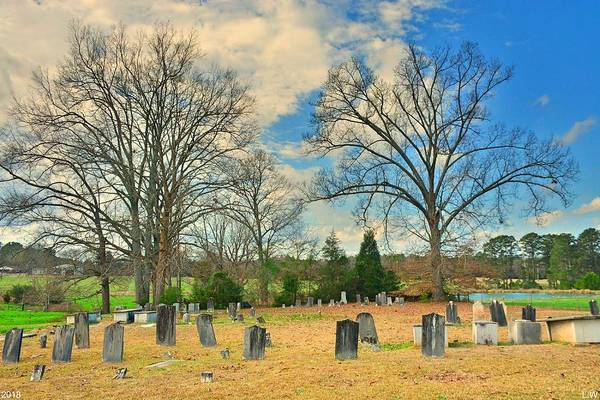 Photograph - Chapman Summers Cemetery Newberry Sc 2 by Lisa Wooten