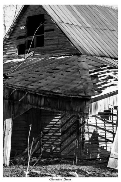 Tin Roof Wall Art - Photograph - Character Years by Betsy Knapp