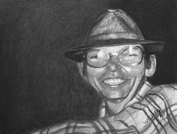 Drawing - Charcoal Commission by Wade Clark