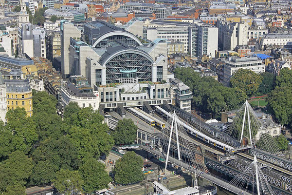 Photograph - Charing Cross Station by Tony Murtagh