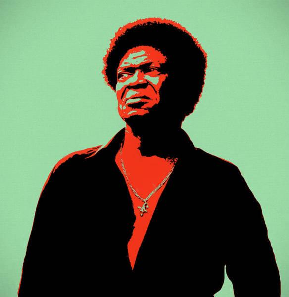 Jazz-funk Painting - Charles Bradley Pop Art by Dan Sproul