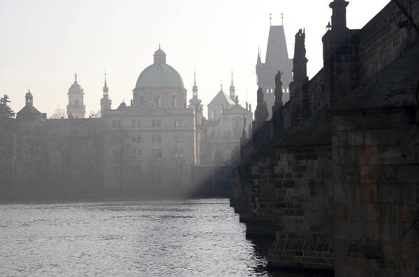 Cityspace Wall Art - Photograph - Charles Bridge At Early Morning by Michal Boubin
