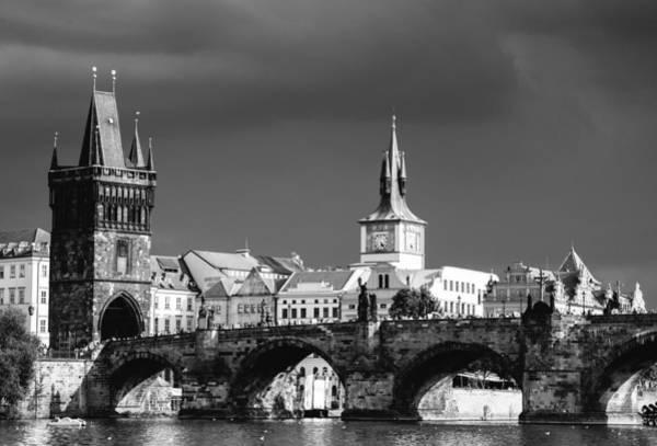Photograph - Charles Bridge Prague Czech Republic by Matthias Hauser
