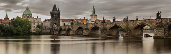 Wall Art - Photograph - Charles Bridge Prague by Steve Gadomski