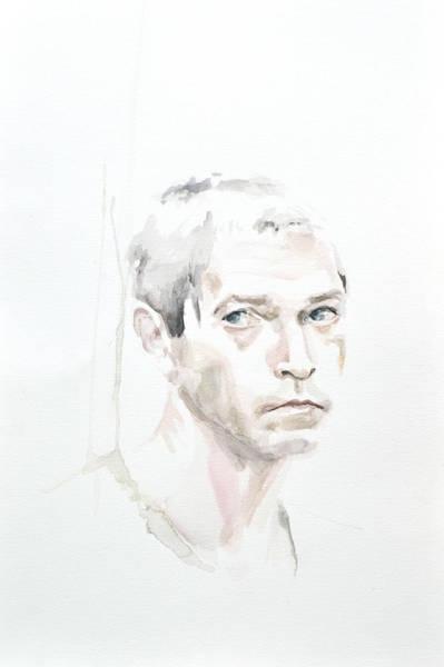 Serial Killer Painting - Charles C. by Addie Price