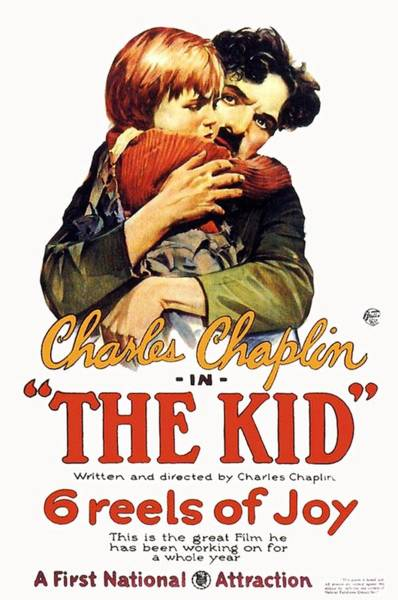 Nostalgia Drawing - Charles Chaplin In The Kid 1921 by Mountain Dreams