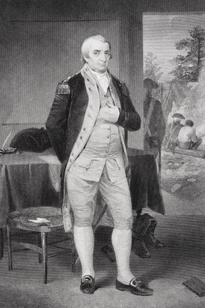 Alonzo Drawing - Charles Coteworth Pinckney 1746-1825 by Vintage Design Pics