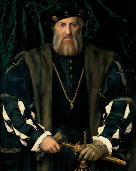Painting - Charles De Solier Sieur De Morette  by Hans Holbein the Younger