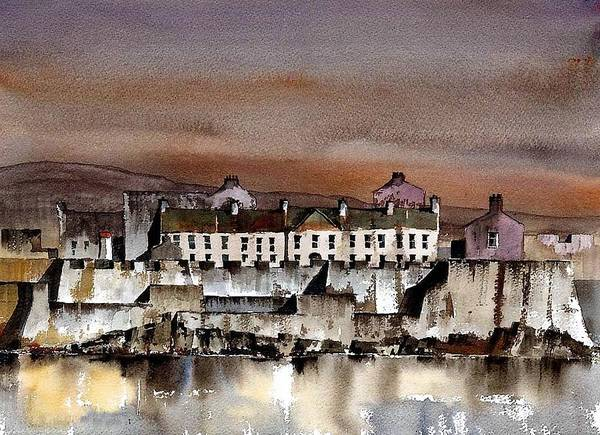 Painting - Charles Fort Kinsale Cork by Val Byrne