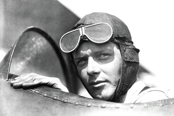 Photograph - Charles Lindbergh - Doc Braham - All Rights Reserved. by Doc Braham