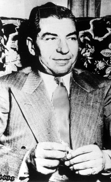 Luciano Wall Art - Photograph - Charles Lucky Luciano, Circa 1940s by Everett