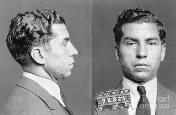 Wall Art - Photograph - Charles Lucky Luciano by Granger