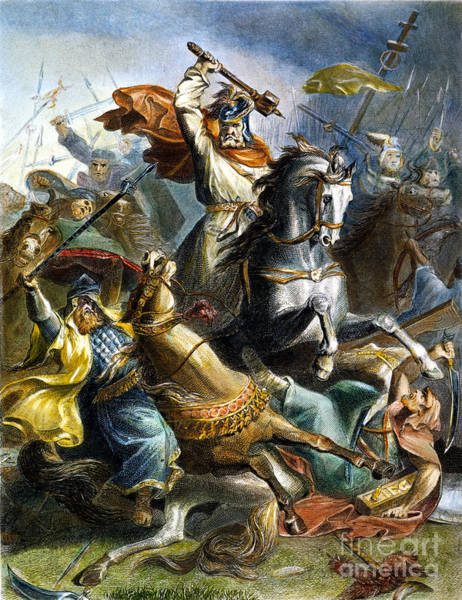 Er Photograph - Charles Martel (c688-741) by Granger