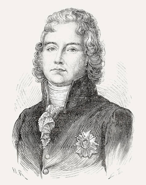 Wall Art - Drawing - Charles Maurice De Talleyrand-p by Vintage Design Pics