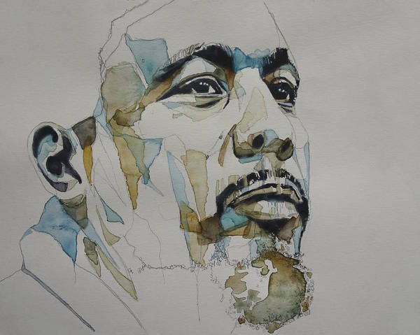 Charles Painting - Charles Mingus Art by Paul Lovering