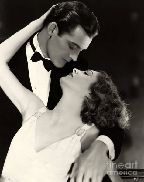 Passionate Photograph - Charles Starrett Billie Dove The Age For Love 1931 by Sad Hill - Bizarre Los Angeles Archive
