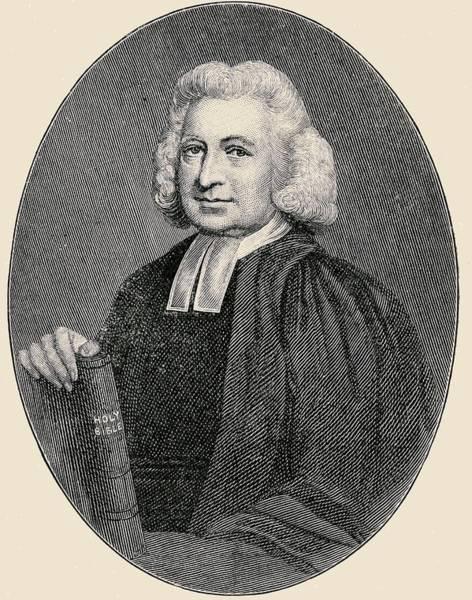 Wall Art - Drawing - Charles Wesley, 1707-1788. English by Vintage Design Pics