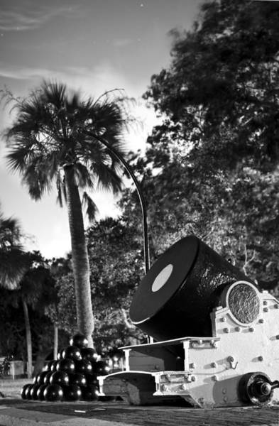 Battery Photograph - Charleston Battery Mortar  by Dustin K Ryan