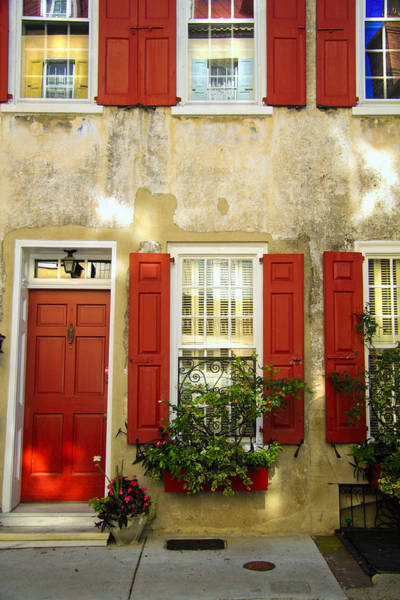 Window Box Photograph - Charleston Charm by Wendy Mogul