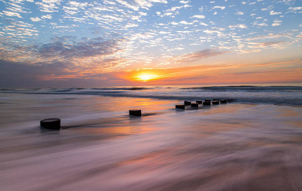 Photograph - Charleston Coast Seascape by Donnie Whitaker