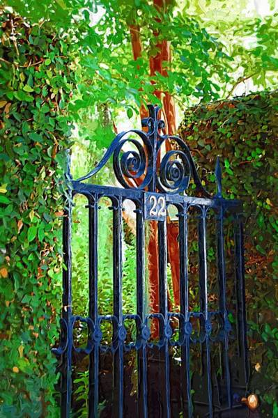 Photograph - Charleston Gate 1 by Donna Bentley