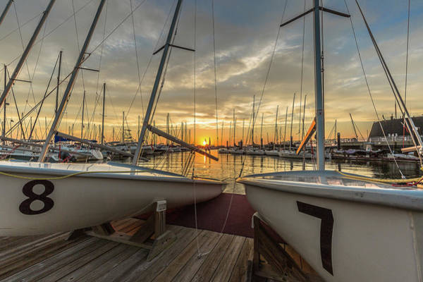 Photograph - Charleston Harbor Marina by Donnie Whitaker