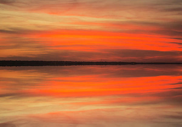 Photograph - Charleston Harbor Sunset 05 by Jim Dollar