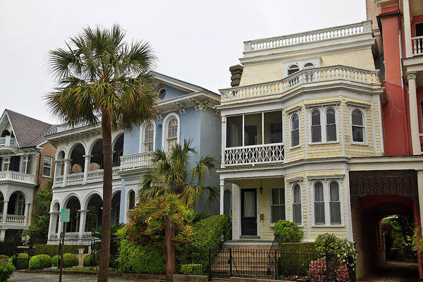 Photograph - Charleston Homes by Jill Lang