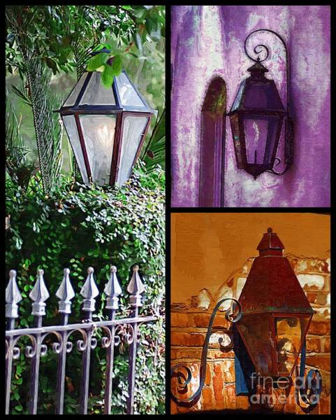 Photograph - Charleston Lanterns by Donna Bentley