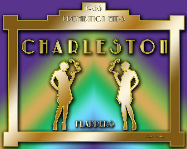 Digital Art - Charleston Prohibition by Chuck Staley
