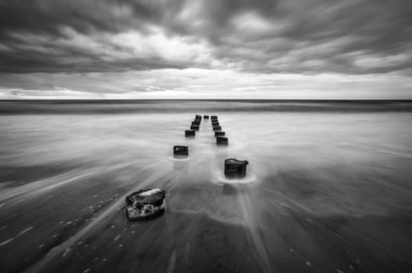 Photograph - Charleston Sc Folly Beach Seascape Photography by Dave Allen