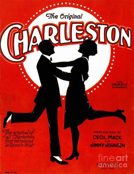Photograph - Charleston Songsheet Cover by Granger