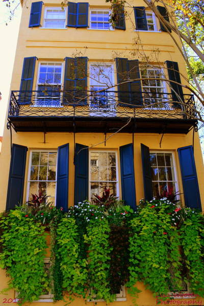 Photograph - Charleston Style Home by Lisa Wooten