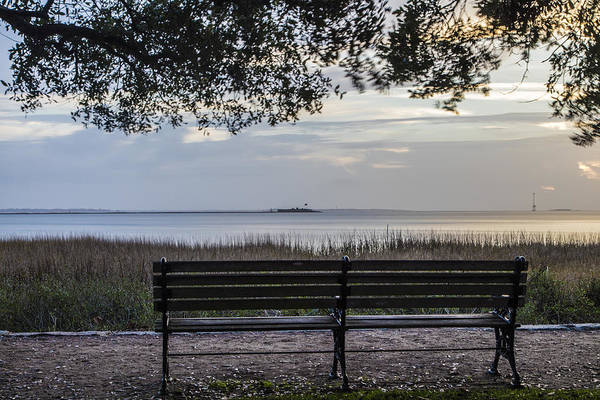 Fort Sumpter Photograph - Charleston Sunrise With Fort Sumpter  by John McGraw