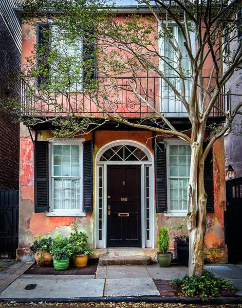 Photograph - Charleston Townhouse  by Harriet Feagin