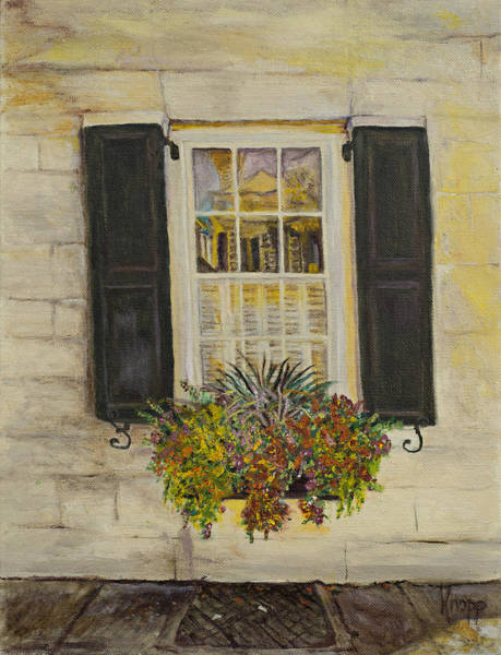 Charleston Window Art Print