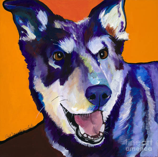 Painting - Charley by Pat Saunders-White