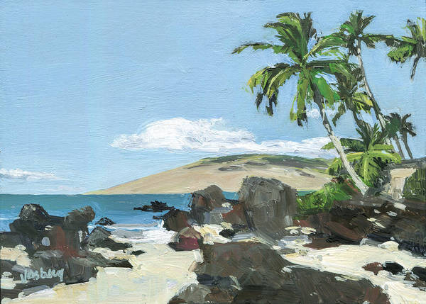 Wall Art - Painting - Charley Young Beach Morning by Stacy Vosberg