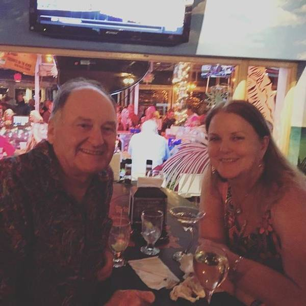Photograph - Charlie And I At Coconuts On The Beach by Melissa Abbott