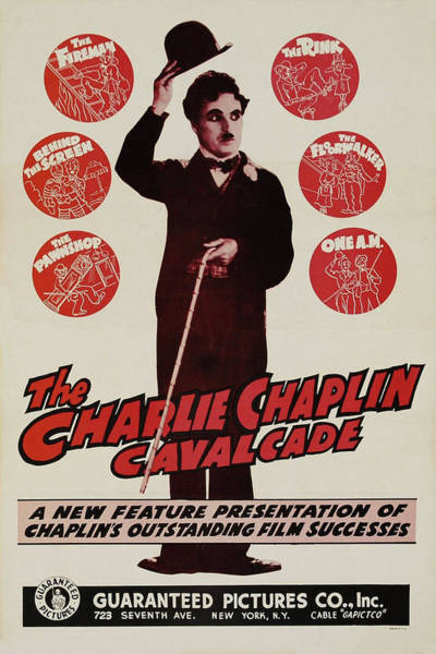 Mixed Media - Charlie Chaplin Cavalcade 1941 by Movie Poster Prints