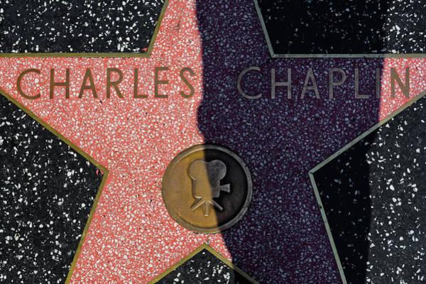 Photograph - Charlie Chaplin Star by Kyle Hanson