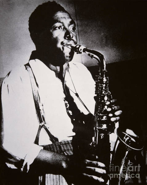 Length Photograph - Charlie Parker by American School