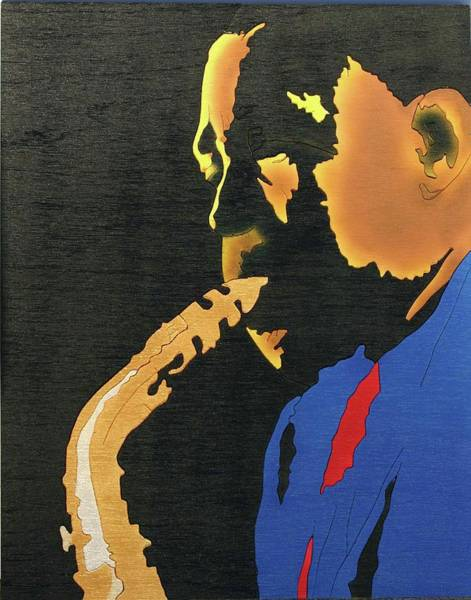 Mixed Media - Charlie Parker  by Fred Gardner