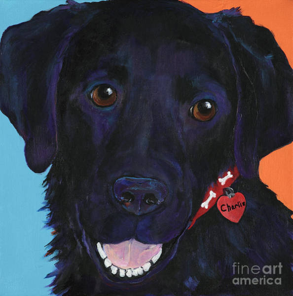 Painting - Charlie by Pat Saunders-White